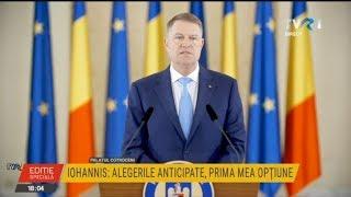Klaus Iohannis l-a nominalizat pe Ludovic Orban pentru funcţia de prim-ministru