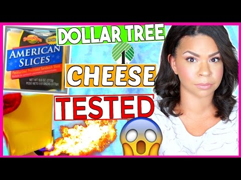 NEVER BUY DOLLAR TREE CHEESE AGAIN! SUNNY ACRES -VS- KRAFT WHICH CAN BE SET ON FIRE + TONS OF FACTS