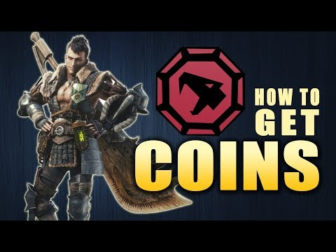 How to get COINS | Monster Hunter World (Pinnacle Coin, Ace Hunter, Brute, Flying)