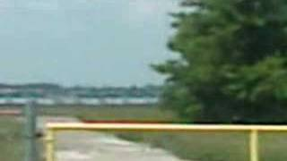 UFO sighting at Hope, Arkansas airport