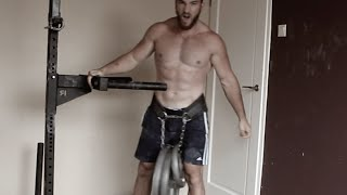 THE FINISHER: HSPU + WEIGHTED DIPS SUPERSET