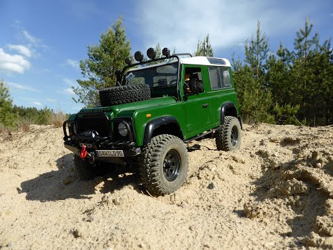 """RC Land Rover Defender 90 """"Somewhere in Russia"""""""