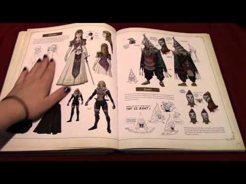ASMR The Legend of Zelda: Hyrule Historia - PART 3