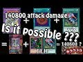 YuGiOh POC 140K Attack Damage - Is It Possible ???