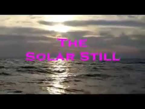 Solar distillation project for water treatment / how to make a solar distillation model