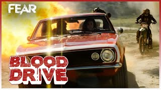 Chased by Barbarian Bikers | Blood Drive Thumb