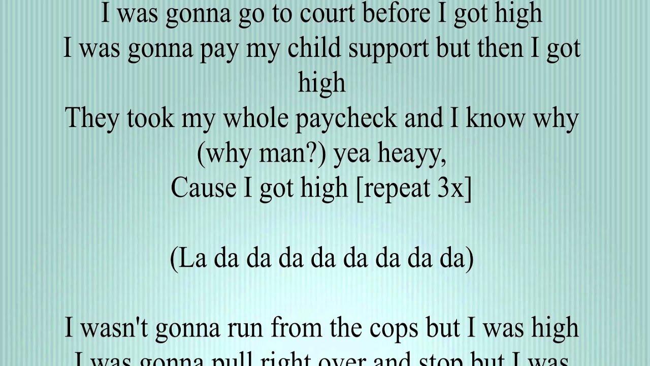 Afroman – Because I Got High Lyrics | Genius Lyrics
