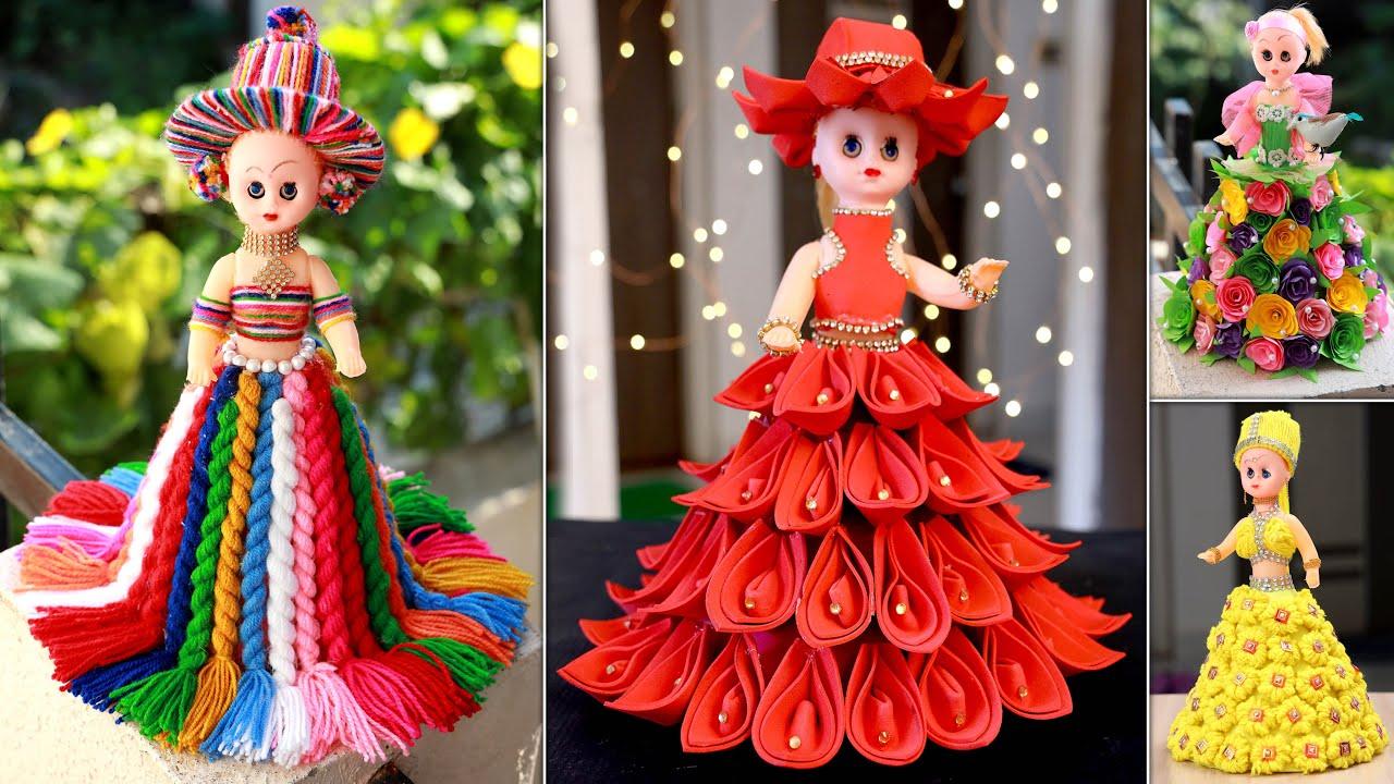 Beautiful! DIY Doll Decoration Woolen Craft
