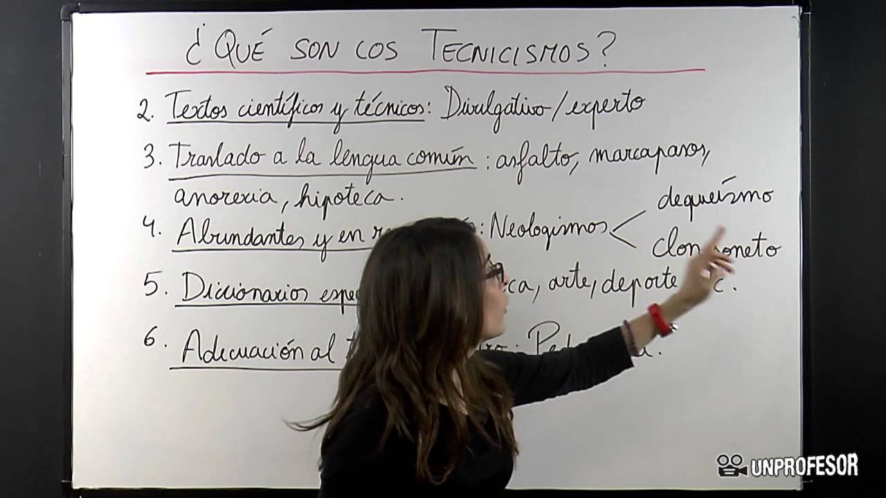 Qu son los tecnicismos youtube for Cuales son los arboles perennes