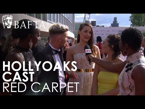 Hollyoaks Cast's Red Carpet Interview | BAFTA TV Awards 2018