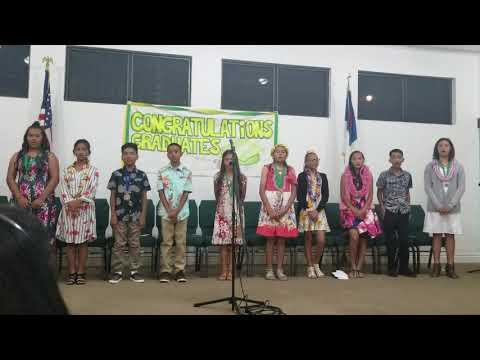Maili Bible School 6th Grade Graduation