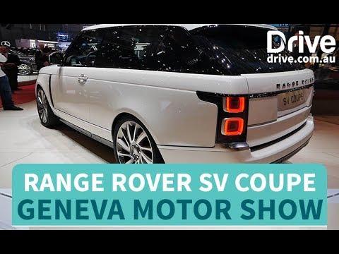 Range Rover SV Coupe Revealed   Drive.com.au - Dauer: 51 Sekunden