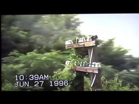 Vintage Railroad Video - Amtrak Gulf Cost Limited - New Orleans, LA to Mobile, AL - June 27, 1996