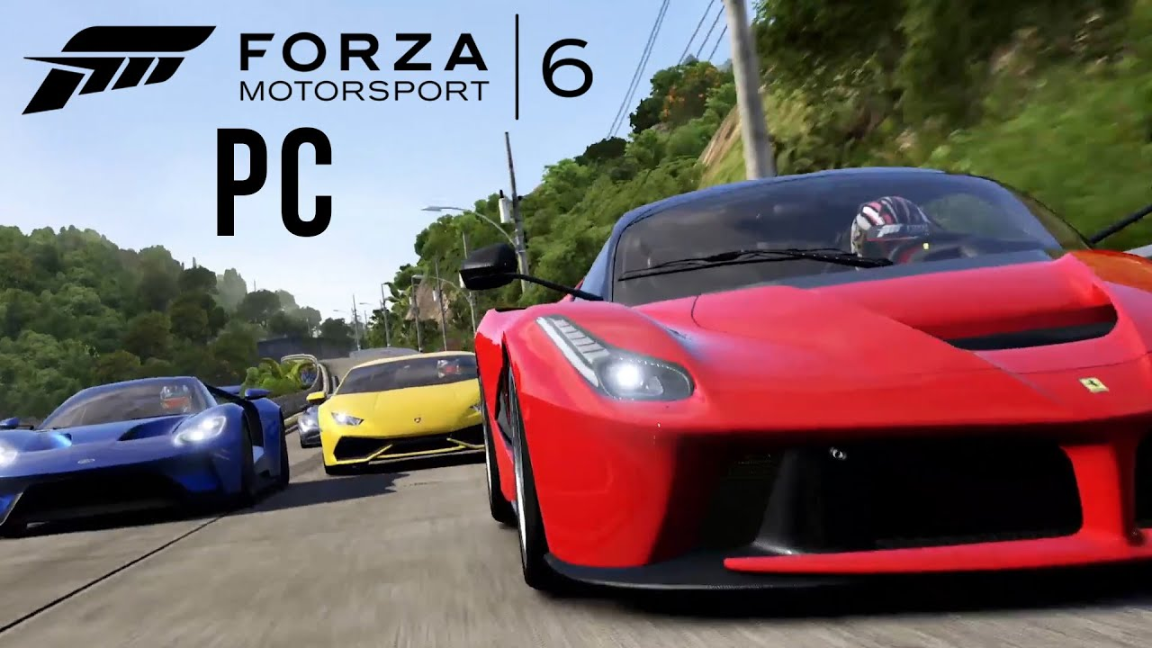 forza motorsport 6 apex pc announcement trailer youtube. Black Bedroom Furniture Sets. Home Design Ideas