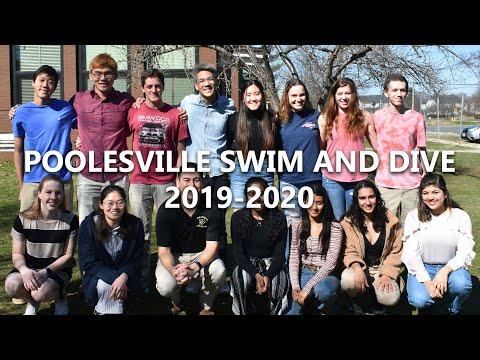 Poolesville High School Swim and Dive 2019-2020