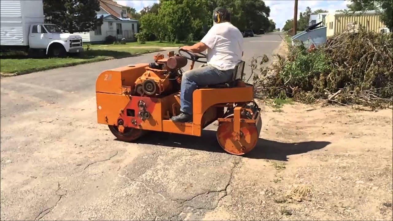 1970s essick vr30re road roller youtube - Essecke roller ...