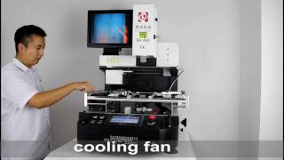 dh a4d full automatic bga rework station desoldering soldering chips of motherboards