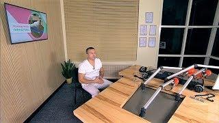 Югорским офисным работникам предложили упражнения для укрепления спины