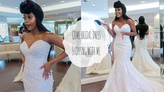 WEDDING SERIES: COME DRESS SHOPPING WITH ME
