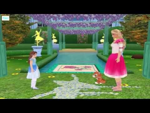 Барби Компьютерная игра в куклы