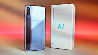 "Samsung Galaxy A7 (2018) ""BLACK"" - UNBOXING!!!"