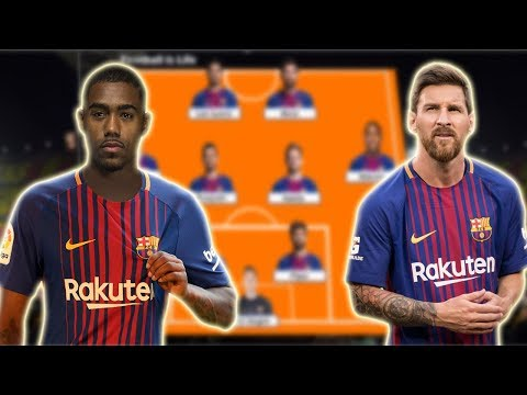 Barcelona Potential Lineup 2018/2019 With Messi , Malcom , Philippe Coutinho