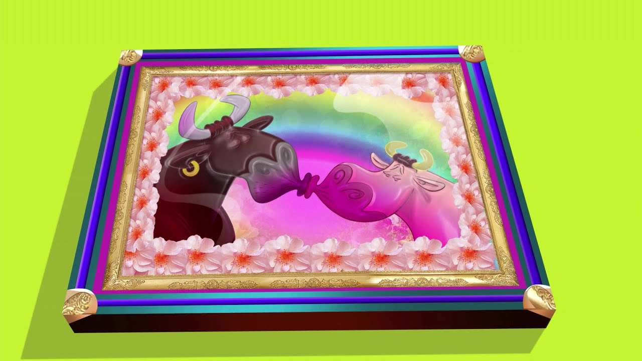हिंदी Oggy and the Cockroaches 🛒🔺 BIG LOVE PICTURE 🛒🔺 Hindi Cartoons for Kids