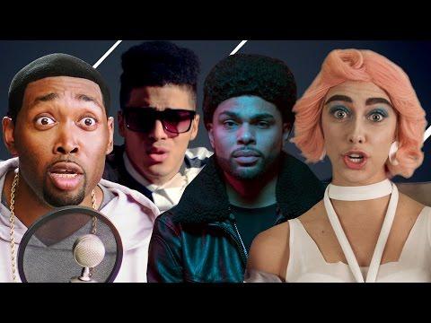 Bruno Mars Ed Sheeran Adele PARODY MASHUP! The Key of Awesome