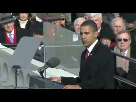 President Barack Obama Inaugural Address 1/20/09 Part 2
