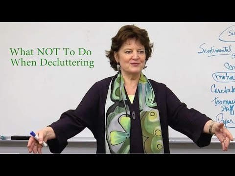 What NOT To Do When Decluttering or Downsizing