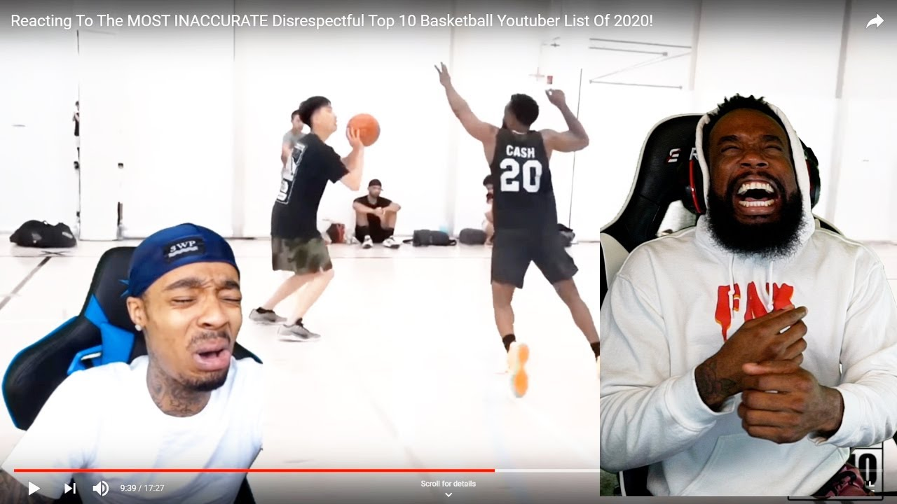 FLIGHT MAD BECAUSE HE WASN'T ON THE MOST ACCURATE Top 10 Basketball Youtuber List Of 2020!