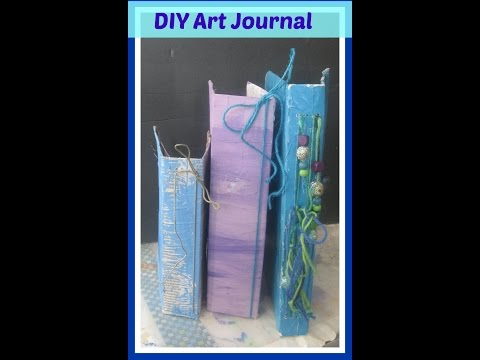 How to add signatures to a handmade art journal -Part two - Making and Preparing the Signatures