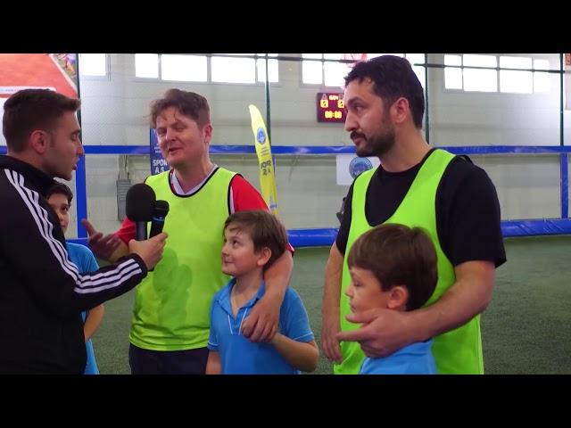 019  Babalar ve Oğullar Futbol Turnuvası Röportajları II
