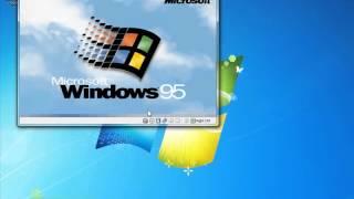 Complete Windows 95 Installation in Virtualbox Part 2 of 2
