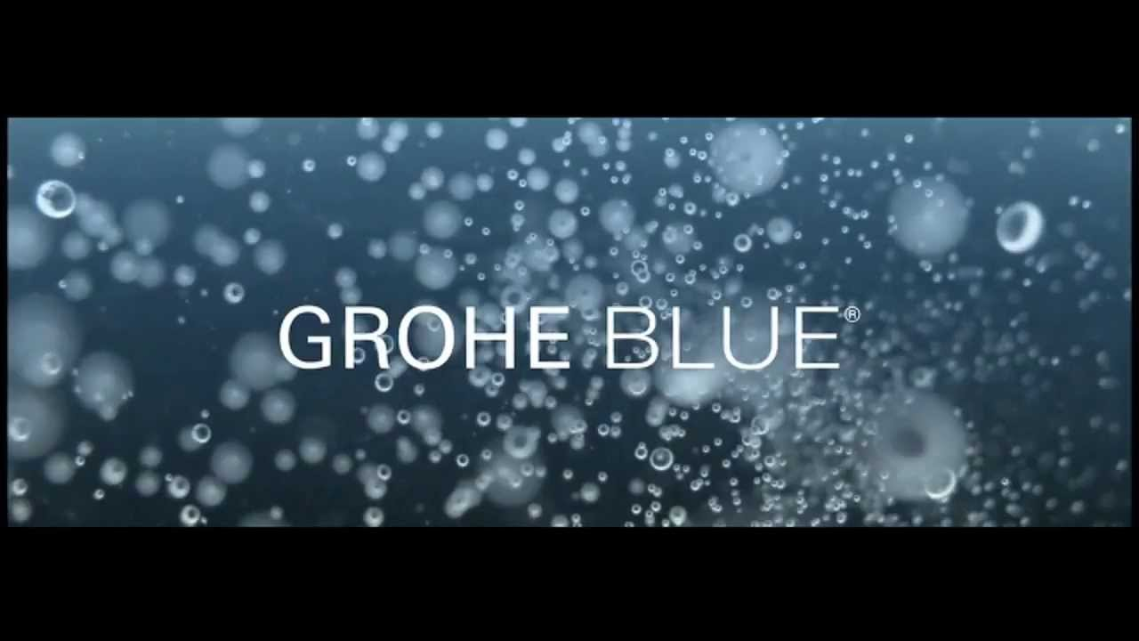 grohe grohe blue pure product video youtube. Black Bedroom Furniture Sets. Home Design Ideas