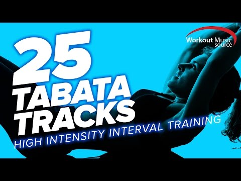 Workout Music Source // 25 TABATA Tracks // HIIT Training With Vocal Cues (128-155 BPM)