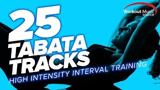 WOMS // 25 TABATA Tracks // HIIT Training with Vocal Cues (128-155 BPM)