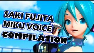 SAKI FUJITA MIKU VOICE COMPILATION