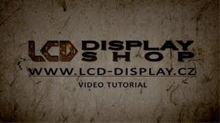 Lenovo G565 výměna displeje , screen replacment. LCD Display Shop.