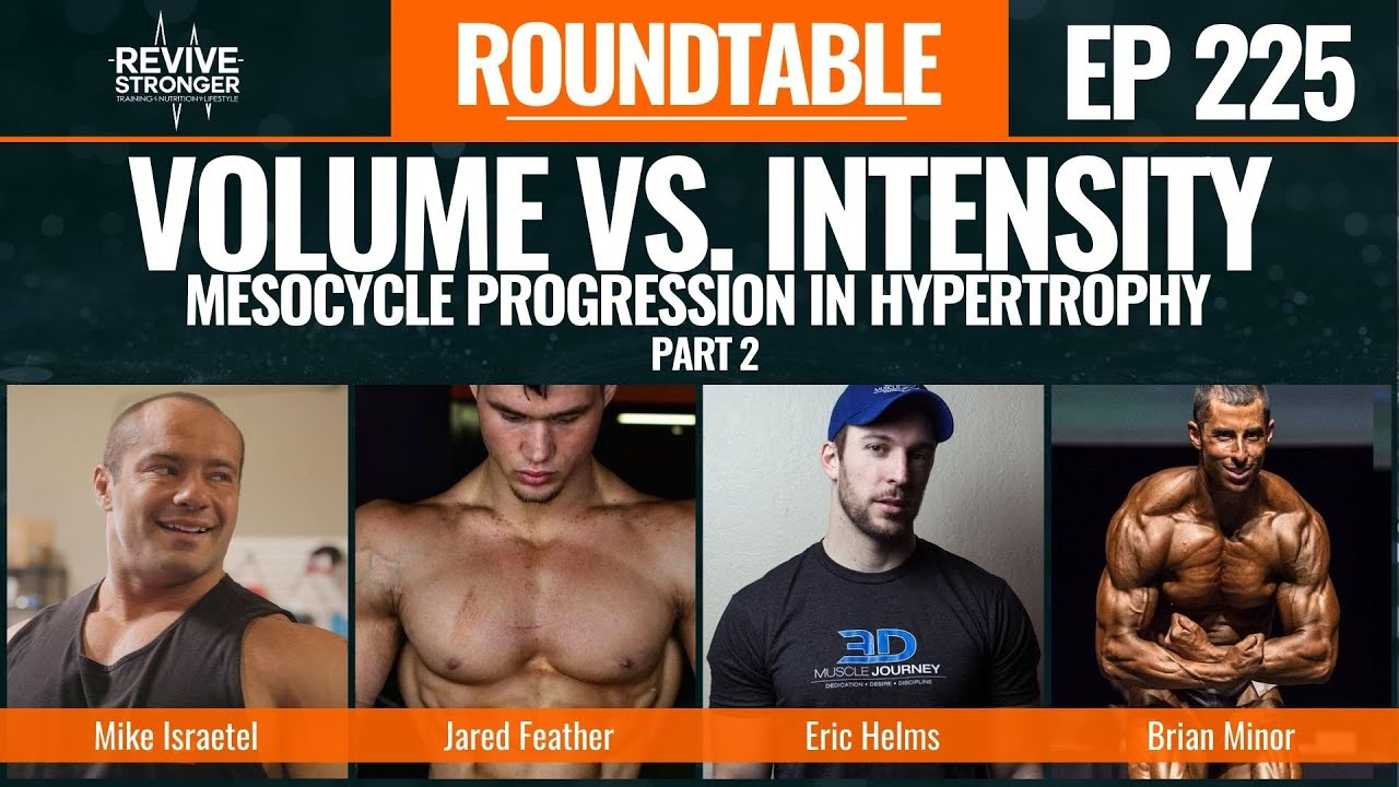 225: Volume vs. Intensity - Mesocycle Progression in Hypertrophy Part 2