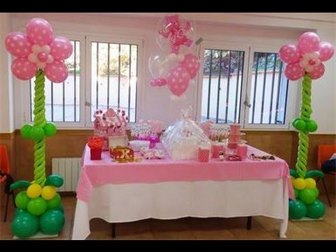 Como adornar con globos paso a paso youtube for Decoracion de globos para fiestas infantiles paso a paso