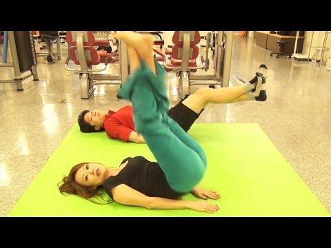 女子向け!下腹を引っ込めてウエストを細くする腹筋トレーニング! | Muscle Watching