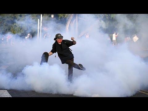 تجدد التظاهرات في مدن أمريكية وعمليات نهب في نيويورك  - نشر قبل 3 ساعة