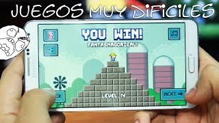 Los Juegos Más DIFICILES para Móvil [ ¿Te atreves a probarlos? ] | Tu Android Personal thumbnail