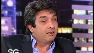 Ping Pong de preguntas a Ricardo Darin, Parte 1- Susana Gimenez 2007