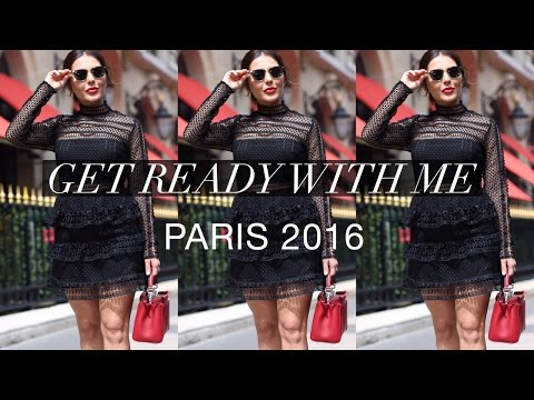 Get Ready With Me in Paris I Makeup Tutorial + Outfit