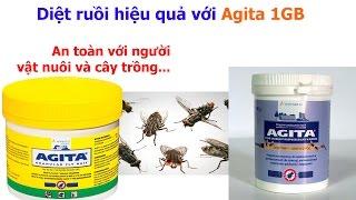 Diệt ruồi hiệu quả với thuốc diệt ruồi AGITA 1GB