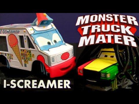 Cars Toon I Screamer Deluxe Diecast Rasta Carian Monster Truck