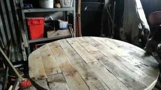 Making A Palletwood Table Top