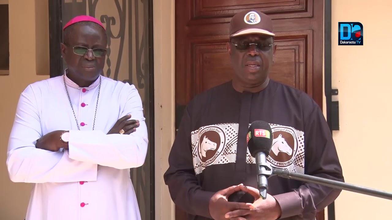Présidentielle 2019 : Les assurances de Macky Sall au chef de l'église sénégalaise